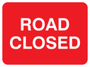 text only Text: road closed