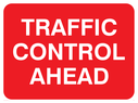 text only Text: traffic control ahead