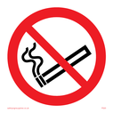no smoking symbol Text: None - no smoking symbol only