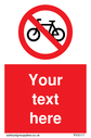 pcustom-no-cycling-sign-add-your-own-custom-text-normal-delivery-times-apply-red~