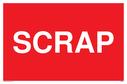 <p>Scrap text only sign</p> Text: SCRAP