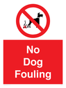 <p>No Dog Fouling</p> Text: