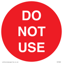 <p>DO NOT USE</p> Text: