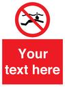 <p>Custom prohibition No snorkelling</p> Text: