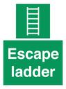 <p>Escape ladder</p> Text: