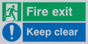fire-exit-keep-clear-dual-safety-sign-running-man-facing-right-and-exclaimation-~