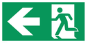fire-exit--emergency-exit-sign-with-arrow-left--running-man-facing-left~