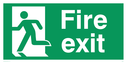 fire-exit--emergency-exit-sign-with-running-man-facing-left~