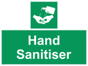 <p>Hand Sanitiser</p> Text: