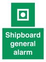<p>Shipboard general alarm</p> Text: