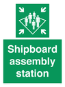 <p>Shipboard assembly station</p> Text:
