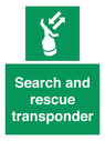 <p>Search and rescue transponder</p> Text: