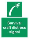 <p>Survival craft distress signal</p> Text: