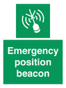 <p>Emergency position beacon</p> Text: