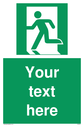 custom-emergency-exit-left-sign-add-your-own-custom-text-normal-delivery-times-a~