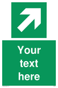 custom-arrow-top-right-sign-add-your-own-custom-text-normal-delivery-times-apply~