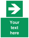 custom-arrow-right-sign-add-your-own-custom-text-normal-delivery-times-apply-gre~