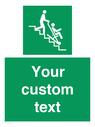 <p>Custom Safe Condition Evacuation chair</p> Text: