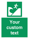 <p>Custom Safe Condition Tsunami evacuation area</p> Text:
