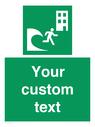 <p>Custom Safe Condition Tsunami evacuation building</p> Text:
