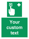 <p>Custom Safe Condition First aid call point</p> Text: