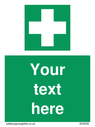 pcustom-first-aid-sign-with-first-aid-symbol---white-cross-in-green-squarep~