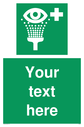 custom-eye-wash-station-sign-add-your-own-custom-text-normal-delivery-times-appl~