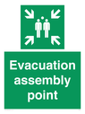 <p>Evacuation assembly point</p> Text: