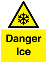<p>Danger Ice</p> Text: