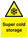 <p>Super cold storage</p> Text: