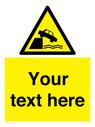 <p>Custom Warning unprotected edges</p> Text: