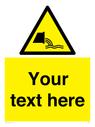 <p>Custom Warning sewage effluent outfall</p> Text: