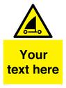 <p>Custom Warning sand yachting</p> Text: