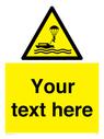 <p>Custom Warning parasailing </p> Text: