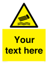<p>Custom Warning inflatables</p> Text: