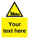 <p>Custom Warning groynes </p> Text: