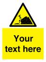 <p>Custom Warning sand dunes</p> Text: