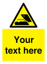 <p>Custom Warning submerged objects in watercraft areas</p> Text: