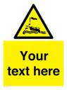 <p>Custom Warning wind over tide conditions</p> Text: