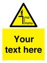 <p>Custom Warning variable water depth</p> Text: