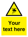 <p>Custom Warning jellyfish</p> Text: