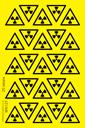 sheet-of-radiation-warning-symbol-triangle-stickers~