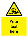 custom-corrosive-safety-sign-with-chemical-and-hand-symbol---black-chemical-and-~