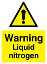 WN5236 Text: Warning Liquid Nitrogen