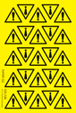 sheet-of-general-warning-exclamation-marknbsptrianglenbspstickers~