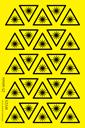 sheet-of-laser-hazard-symbol-trianglenbspstickers~