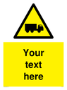 custom-lorry-hazard-sign-add-your-own-custom-text-normal-delivery-times-apply-ye~