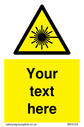 custom-laser-hazard-sign-add-your-own-custom-text-normal-delivery-times-apply-ye~