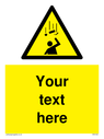 custom-falling-objects-sign-add-your-own-custom-text-normal-delivery-times-apply~