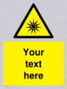 custom-optical-radiation-sign-add-your-own-custom-text-normal-delivery-times-app~